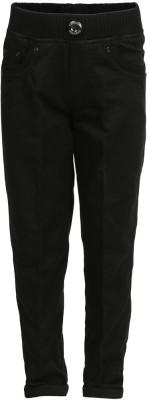 benext Regular Fit Boy's Black Trousers