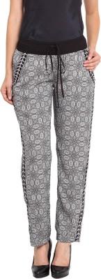 Nvl Regular Fit Women's Black, White Trousers