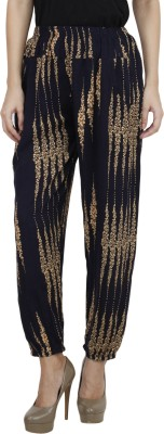 Camey Regular Fit Women's Multicolor Trousers