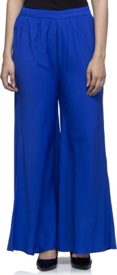 Laabha Regular Fit Women's Blue Trousers at flipkart