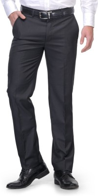 Leonardi Slim Fit Men's Black Trousers