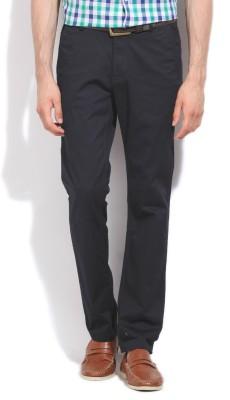 HIGHLANDER Slim Fit Men's Black, Grey Trousers