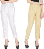 Alicolours Slim Fit Women's Beige Trouse...