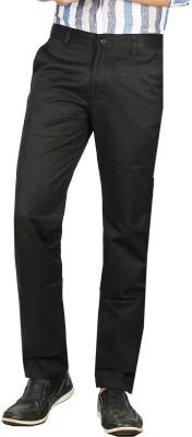 Sloper Regular Fit Men's Black Trousers