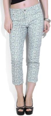 Chemistry Regular Fit Women's Multicolor Trousers