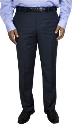 Kinger Regular Fit Men's Grey Trousers