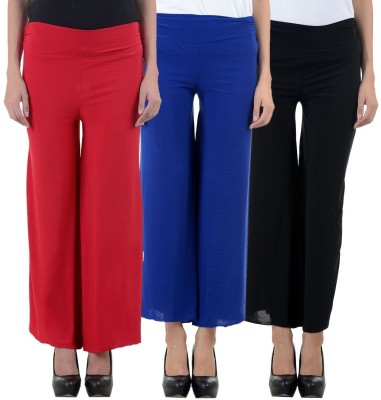 I-Shop Regular Fit Women's Multicolor Trousers at flipkart