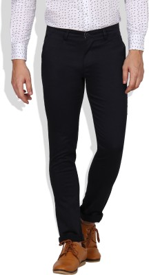 I-Voc Slim Fit Men's Dark Blue Trousers