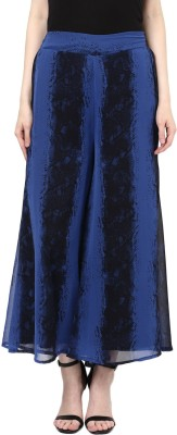 ColorCocktail Regular Fit Women's Blue Trousers