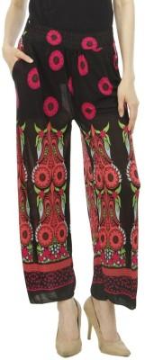 Camey Regular Fit Women's Black Trousers