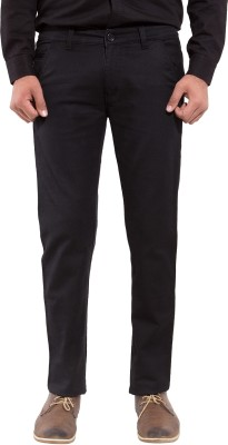 New Valley Regular Fit Men's Black Trousers