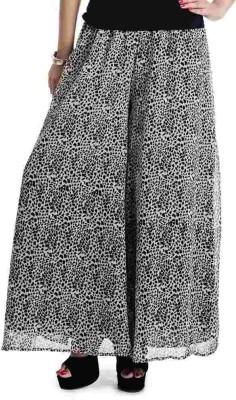 Shopping Queen Regular Fit Women's White Trousers