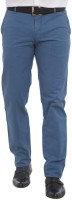 Park Avenue Regular Fit Mens Blue Trousers