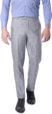SKOOKIE Regular Fit Men's Black Trousers