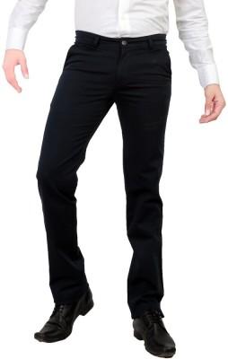 Awack Slim Fit Men's Dark Blue Trousers