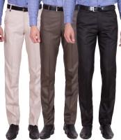 Cliths Slim Fit Men's Multicolor Trousers