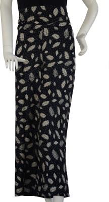 Jupi Regular Fit Women,s Black, Cream Trousers