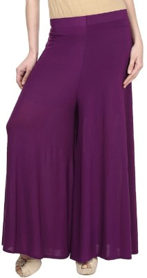 Edge Plus Regular Fit Women's Maroon Trousers