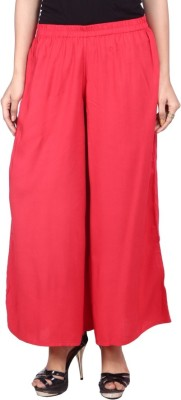 Raziela Regular Fit Women's Red Trousers