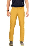 Uber Urban Slim Fit Mens Yellow Trousers