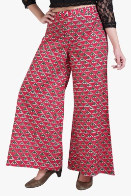 Xora Regular Fit Women's Red Trousers