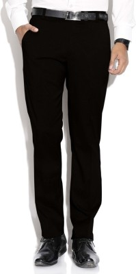 Machu Slim Fit Men's Black Trousers
