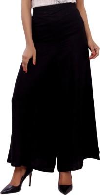 GMI Regular Fit Women's Black Trousers