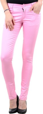 iHeart Skinny Fit Women's Pink Trousers