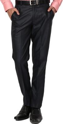 Bellavita Regular Fit Men's Dark Blue Trousers