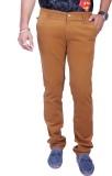 Rusty Cooper Regular Fit Men's Brown Tro...