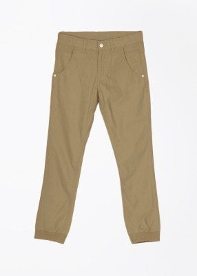 United Colors of Benetton Regular Fit Boy's Beige Trousers