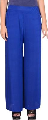 GDS Regular Fit Women's Blue Trousers