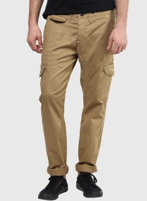 Jack & Jones Slim Fit Men's Beige Trousers