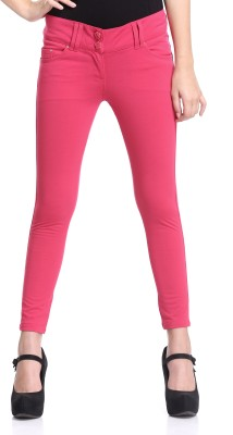 Westwood Skinny Fit Women's Pink Trousers