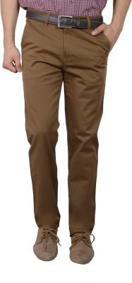 Studio Nexx Regular Fit Men's Gold Trousers