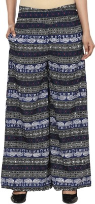 Anam Export Regular Fit Women's Blue, White Trousers