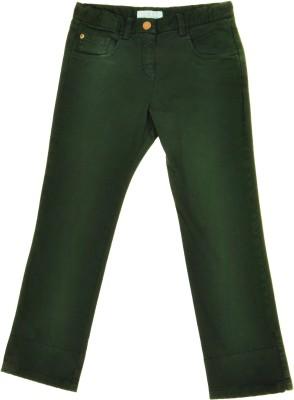 NOQNOQ Regular Fit Girl's Green Trousers