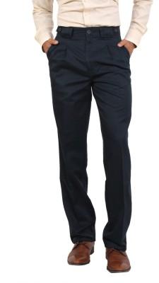 Bottoms Regular Fit Men's Blue Trousers