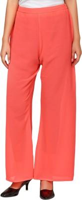Natty India Regular Fit Women's Pink Trousers