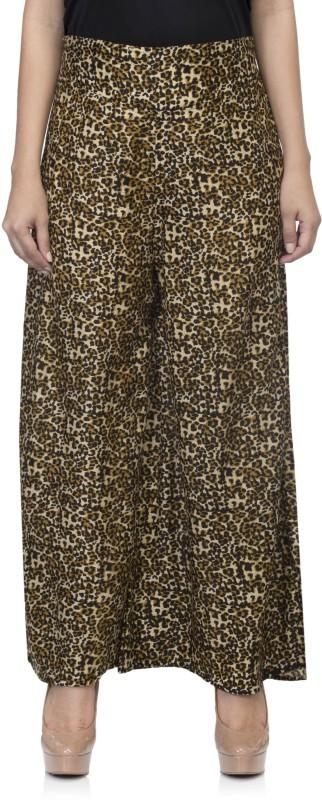 One Femme Regular Fit Women's Multicolor Trousers