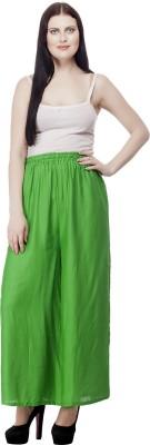 Selfie Regular Fit Women's Green Trousers