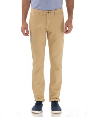London Fog Slim Fit Men's Beige Trousers