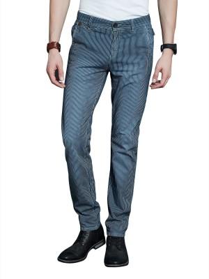 Route 66 Slim Fit Men's Grey Trousers