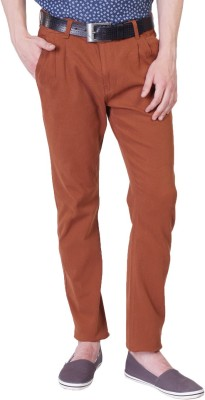 Rollister Slim Fit Men's Red Trousers