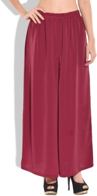 Modish Vogue Regular Fit Women's Red Trousers