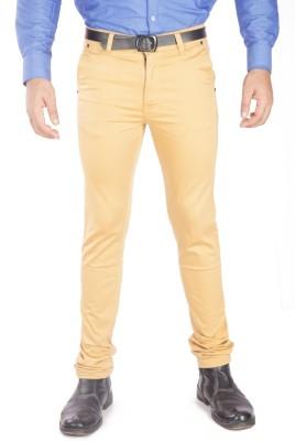 A Flash Regular Fit Men's Cream Trousers