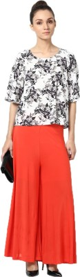Castle Regular Fit Women's Orange Trousers