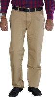 Studio Nexx Regular Fit Mens Beige Trousers