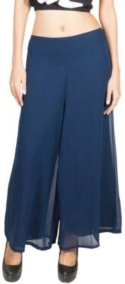 Kyron Regular Fit Women,s Dark Blue Trousers