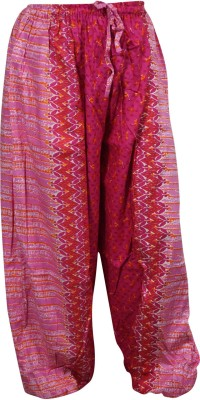 Indiatrendzs Regular Fit Women's Pink Trousers